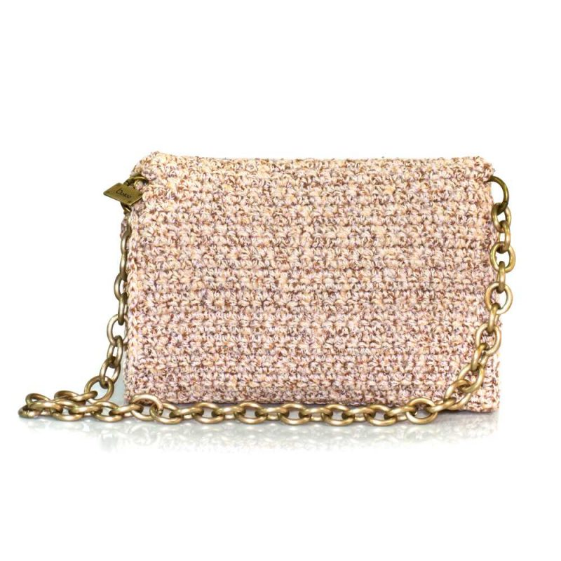 bailloo Beige Handmade knitted bag BLM704