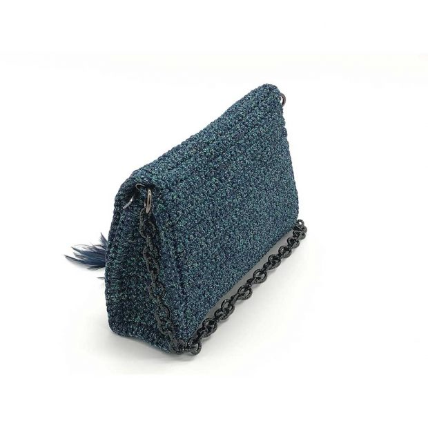 Shimmery-Blue-Handmade-knitted-bag-BLM726-3