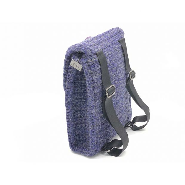 Shimmery-Purple-handmade-knitted-backpack-BLBC746-2